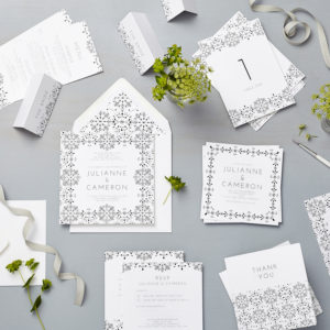 Lucy says I do floral l valentina wedding stationery