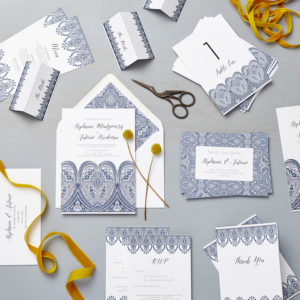 Lucy says I do indian summer wedding stationery