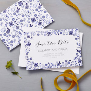 Lucy says I do save the date_danish blue