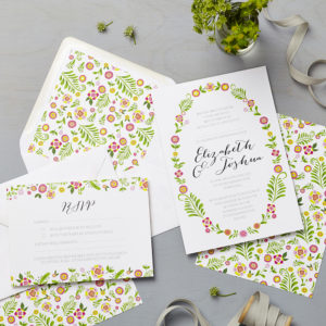 Lucy says I do wedding invitation_danish multi