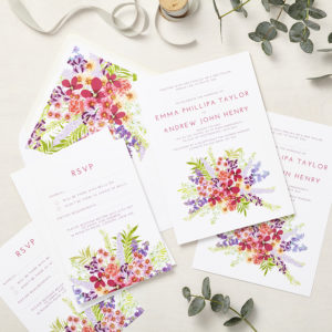 Lucy says I do wedding invitation_secret garden