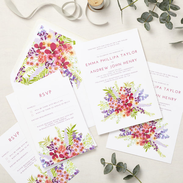 Lucy says I do wedding invitation_secret garden