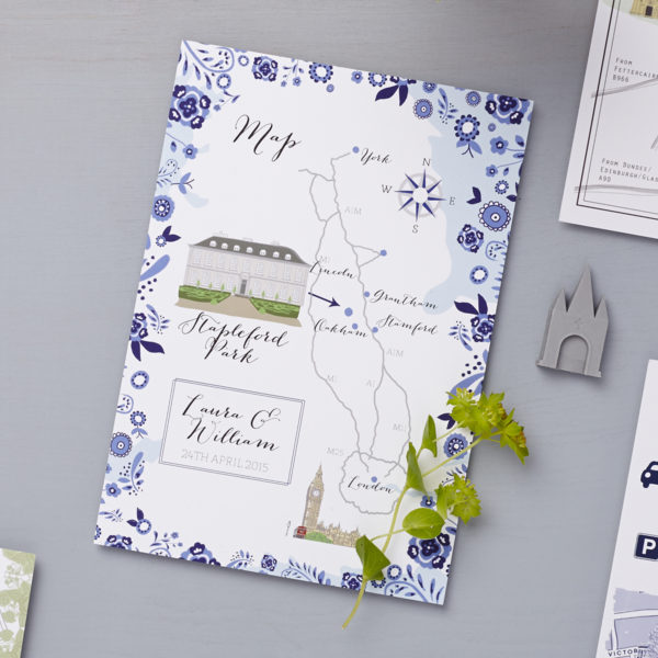 Lucy says i do custom map danish blue