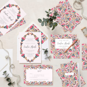 Lucy says I do Martha wedding stationery