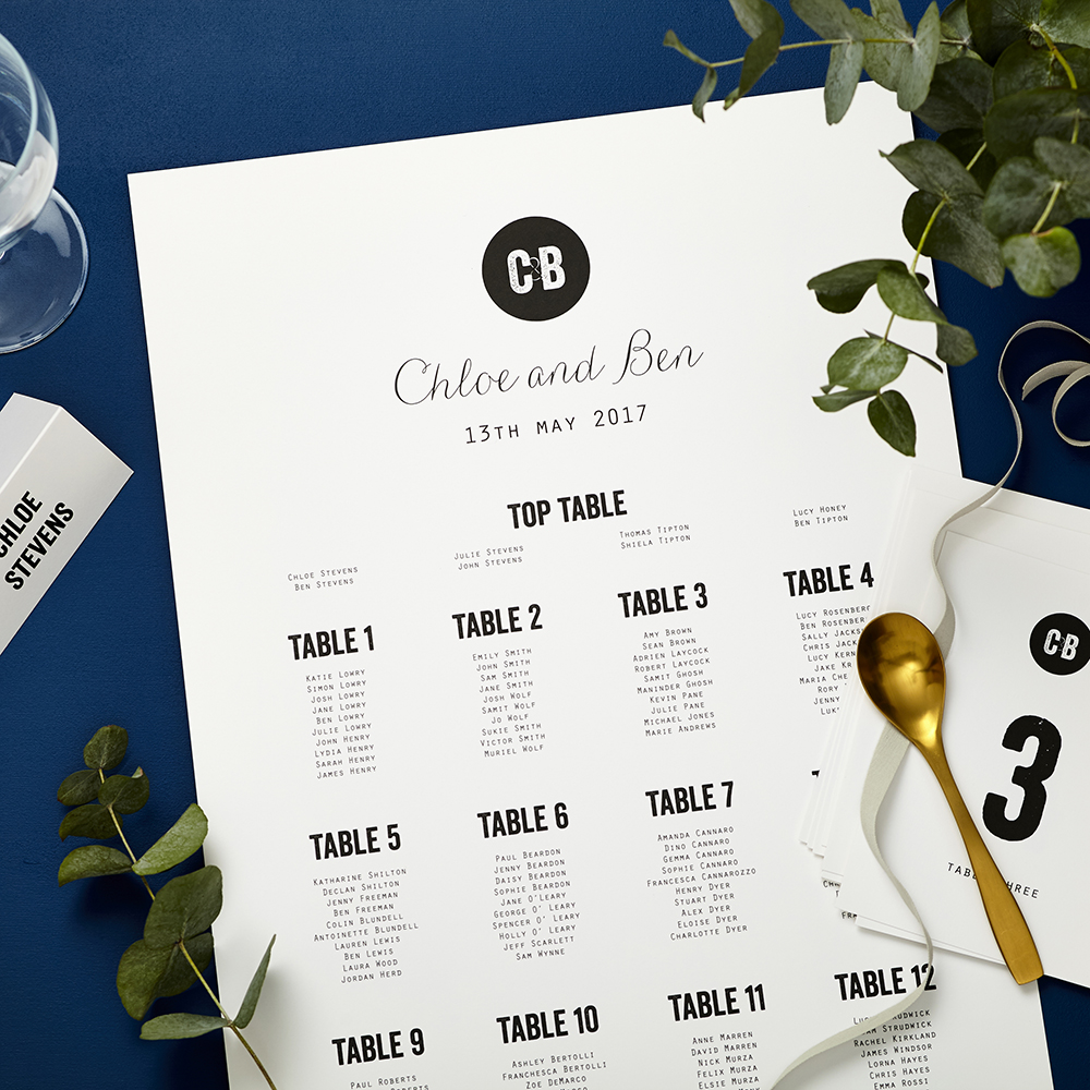 Lucy says I do Tag wedding seating plan006