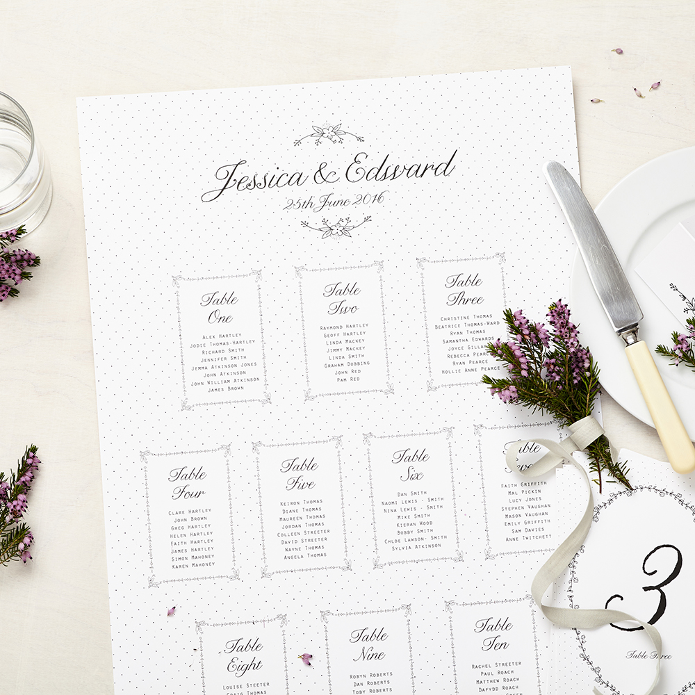 Lucy says I do daisy chain wedding seating plan001