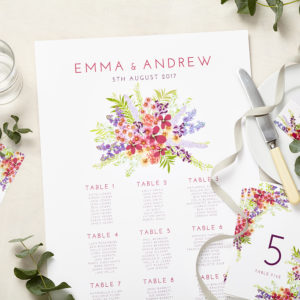 Lucy says I do sceret garden wedding seating plan002