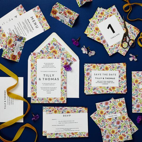 bright flowers wedding verity and mark london wedding 8