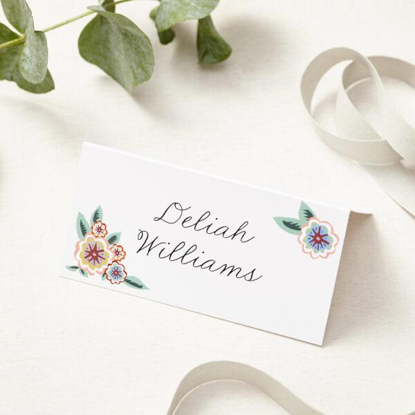 Lucy says I do english summer garden wedding place card002