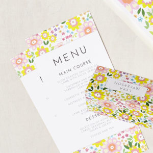 Lucy says I do wedding stationery menu003