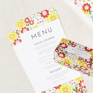 Lucy says I do wedding stationery menu004