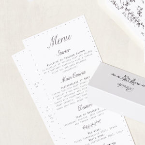 Lucy says I do wedding stationery menu005
