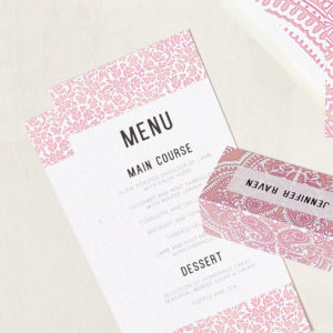 Lucy says I do wedding stationery menu006