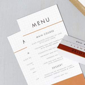 Lucy says I do wedding stationery menu014