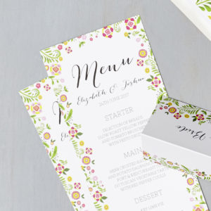 Lucy says I do wedding stationery menu015