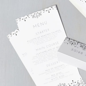 Lucy says I do wedding stationery menu017