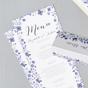 Lucy says I do wedding stationery menu023