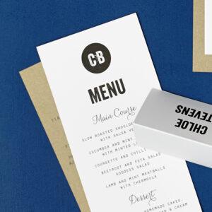 Lucy says I do wedding stationery menu028