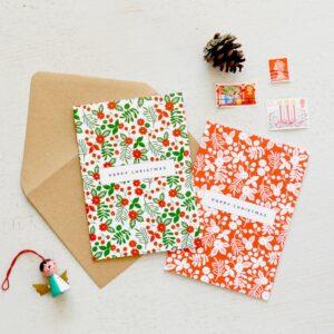LSID festive floral charity christmas cards