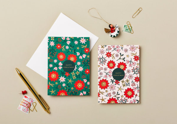 charity christmas card 6 pack retro scandi design happy christmas beautiful luxury cards teenage cancer trust