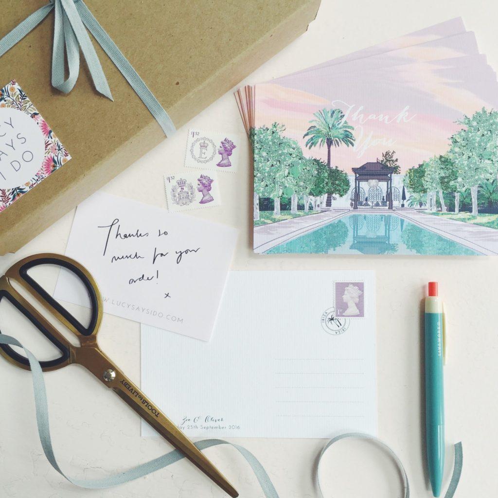 hand drawn bespoke wedding stationery ibiza wedding atzaro