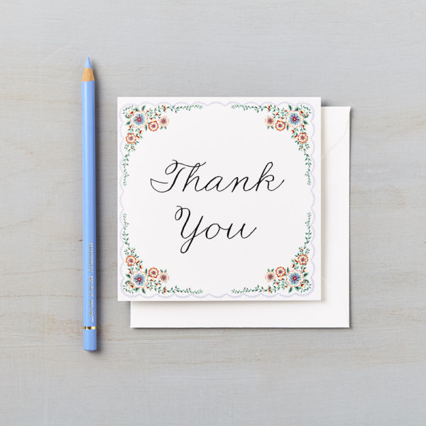 LSID greetings card english summer garden thank you card 2