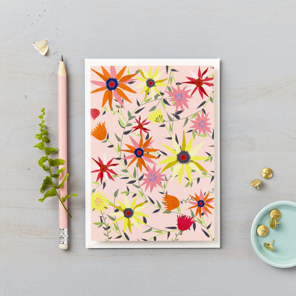 LSID greetings cards coral garden