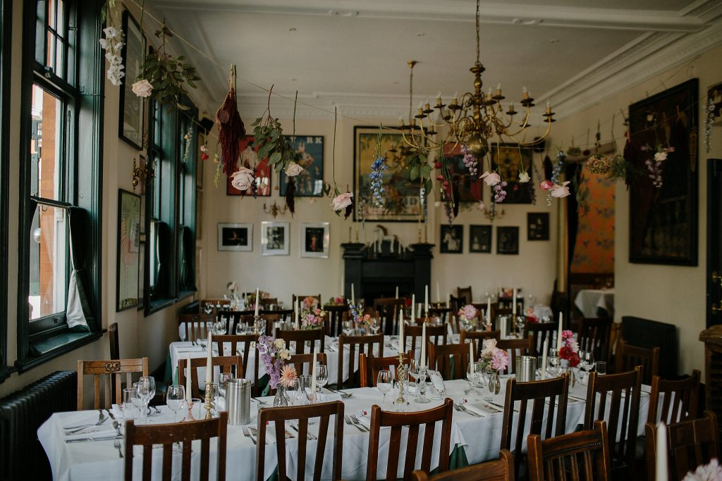 asylum wedding london the peasant halfpenny dress emilie white lucysaysido