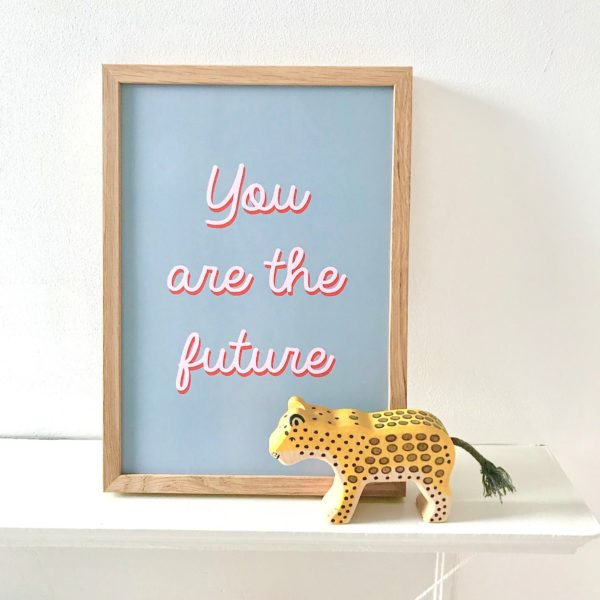 you are the future art print LSID grey_4