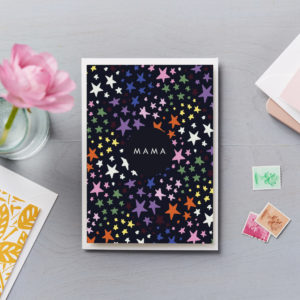 LSID-C179 Star Mama mothers day card