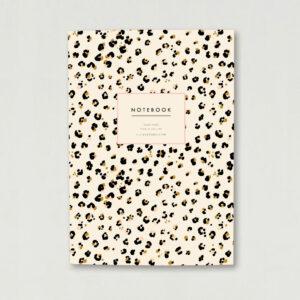 cheetah leopard animal print A5 luxury notebook journal