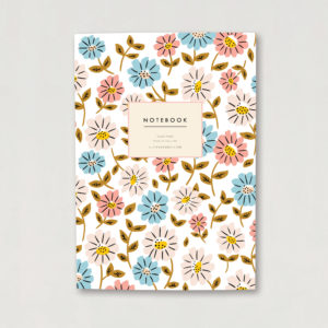 A5 Luxury notebook flower design bullet journal floral cover