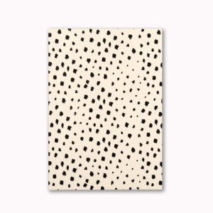 A5 Layflat notebook lined journal dalmatian animal spot OTA bound contents pages numbered pages