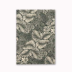 A5 Layflat notebook lined journal botanical jungle OTA bound contents pages numbered pages