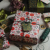 beautiful christmas wrapping paper bundle sustainable paper retro scandi design