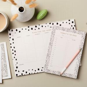 Stationery bundle Desktop Stationery Bundle 4 – week planner, Day Planner