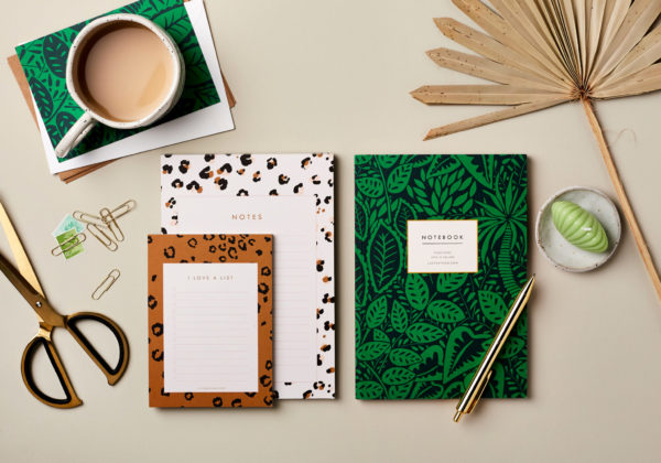 Desktop Notes and Lists Bundle 8 - A5 Notebook, A5 Notepad, A6 list pad