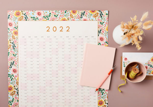 stationery bundle Planner and Notebook Bundle 3 – Wall Year Planner, A5 Lay Flat Notebook sm